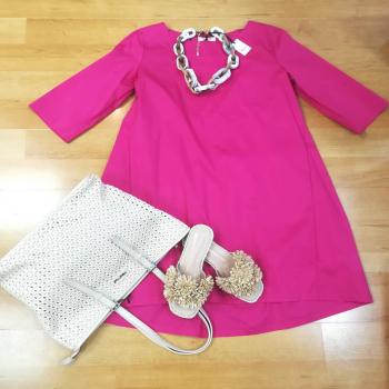 #cottonstyle🦋 #dress #think #fuxia #acccessories #paglia #minimua #francescomilano #like4likes #loveshopping💞 #likefollowers #moodinspiration #moodoftheday #glamfanatics #glamourphoto #glamourphotography #likesforlike #womanfashion #womanstyle #styleblogger #styleinspiration #📲3515329580 #contattaci📩direct #ipanemacapurso☀️