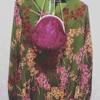 #dress #newcollection #spago #pink #green #fotografer #like4likes #followforlike #blogger #lookstyle #loveshopping💞 #looks #following #instafashion #instalike #fashiondiaries #glamourstyle #spedizionionline #fallwintercollection #like4likes #moodoftheday #ipanemacapurso☀️