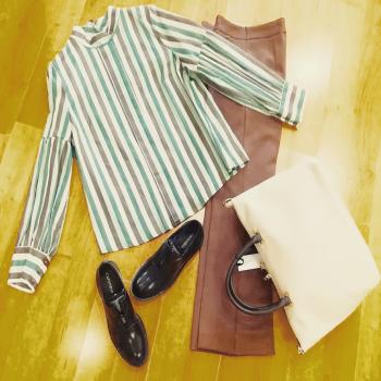 #stile #fashionlook #work #ufficio #styleoftheday #comodità #like4likes #loveshopping💞 #glamourphoto #moodoftheday #moodinspiration #like4likes #details #coloridautunno🍂🍃🍁 #welcomeday #nualyofficial #likesforlike #tagstagram #tagsforlikesapp #moodoftheday #instagram #instphoto #ipanemacapurso🌈