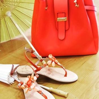 #summerlove #summercolors #shoes  #bags👛👜 #cafenoir #corallo #infradito #mare  #sun #summervibes☀️ #womanstyle #womanfashion #fashionista #fashiondiaries #loveshopping💞 #shoppingtherapy🌈 #shoppingaddict #blogger #freestyle #musthave #followme #followforlike #instagood #instafashion